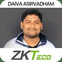Daiva Airvadham got placed in ZKTECO as Python Developer